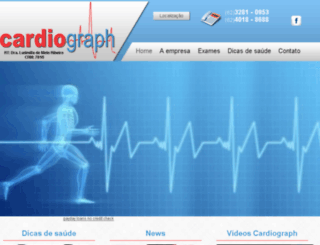 ccardiograph.com.br screenshot