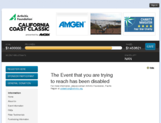 ccc15.kintera.org screenshot
