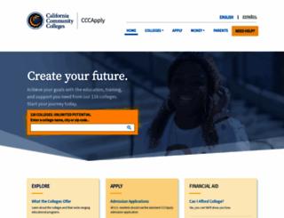 cccapply.org screenshot