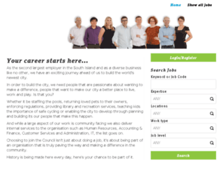 cccjobs.co.nz screenshot