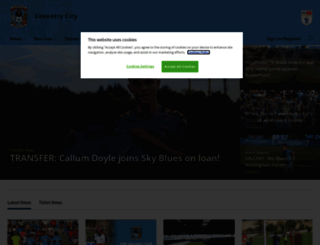 ccfc.co.uk screenshot