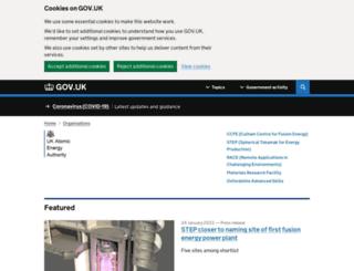 ccfe.ac.uk screenshot