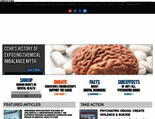 cchrint.org screenshot