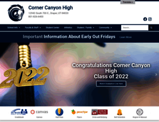 cchs.canyonsdistrict.org screenshot