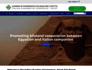 cci-egypt.org screenshot
