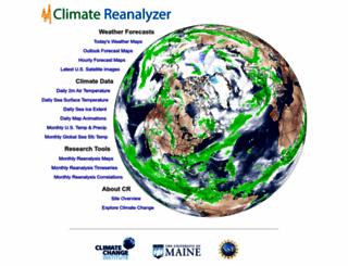 cci-reanalyzer.org screenshot