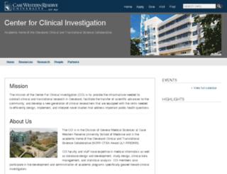 cci.case.edu screenshot