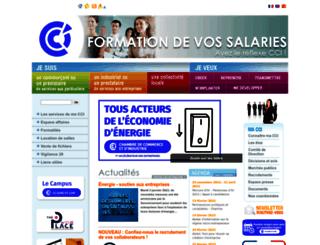 cci28.fr screenshot