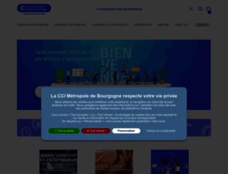 cci71.fr screenshot
