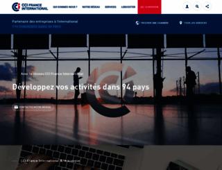 ccifrance-international.org screenshot