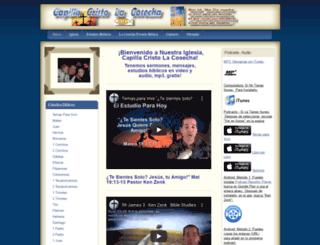 cclacosecha.com screenshot