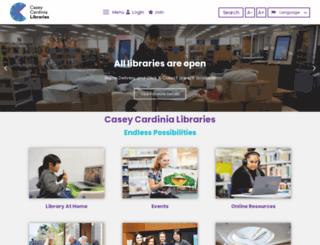 cclc.vic.gov.au screenshot
