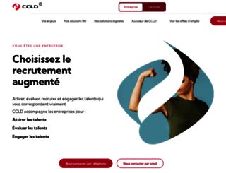 ccld-recrutement.com screenshot
