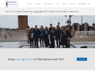 ccltmorocco.com screenshot