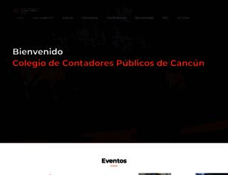 ccpcancun.org.mx screenshot