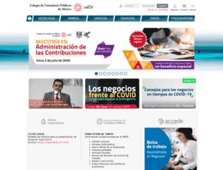 ccpm.org.mx screenshot