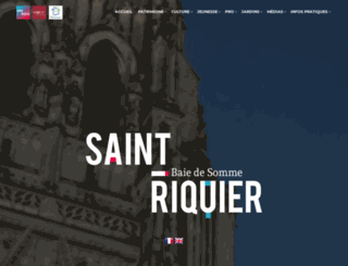 ccr-abbaye-saint-riquier.fr screenshot