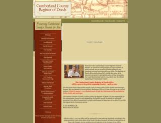 ccrod.org screenshot