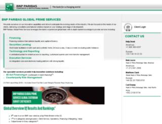 ccs.bnpparibas.com screenshot