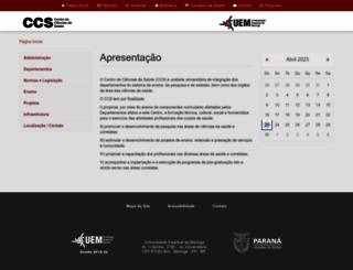 ccs.uem.br screenshot