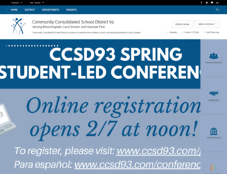 ccsd93.com screenshot