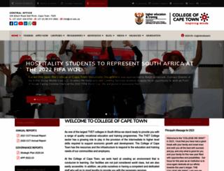 cct.edu.za screenshot