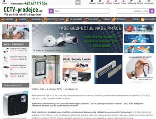 cctv-prodejce.cz screenshot