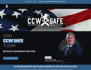 ccwsafe.com screenshot