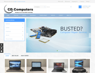 cd-computers.ca screenshot