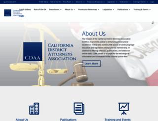 cdaa.org screenshot