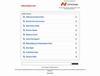 cdacompass.com screenshot