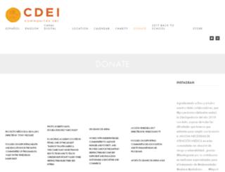 cdei.org screenshot
