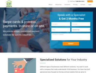 cdgcommerce.com screenshot