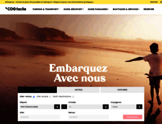cdgfacile.com screenshot