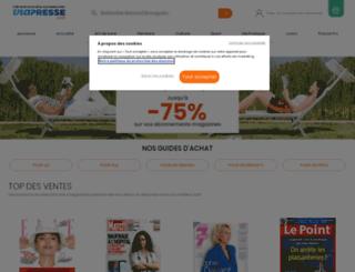 cdiscount.viapresse.com screenshot