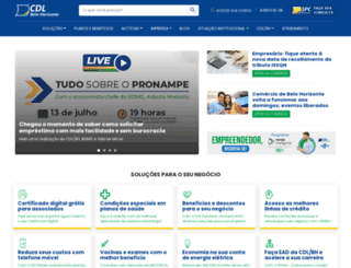 cdlbh.com.br screenshot