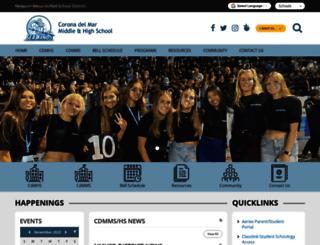 cdm.schoolloop.com screenshot