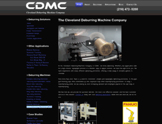 cdmcmachine.com screenshot
