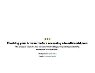 cdmediaworld.com screenshot