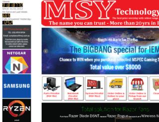 cdn.msy.com.au screenshot