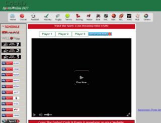 cdn9.crichd.in screenshot