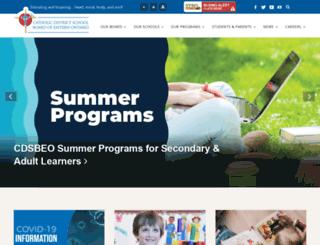 cdsbeo.on.ca screenshot