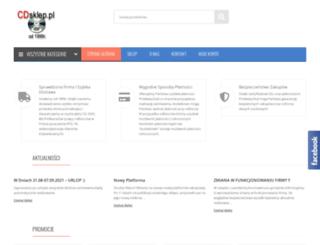 cdsklep.pl screenshot