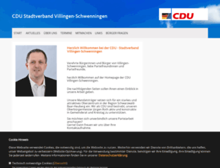 cdu-vs.de screenshot
