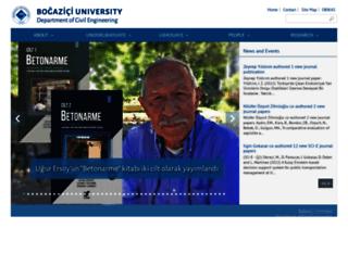ce.boun.edu.tr screenshot