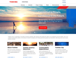 ceaccessories.toshiba.com screenshot