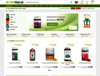 cebanatural.com screenshot
