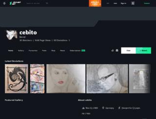 cebito.deviantart.com screenshot