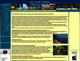 cebu-life.de screenshot