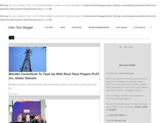 cebutechblogger.com screenshot